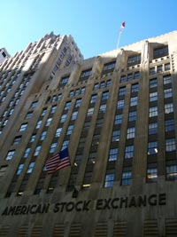 AMEX - The American Stock Exchange - Copyright Uris (English Wikipedia)
